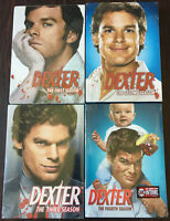 NEW & SEALED * DEXTER * 1-4 1 2 3 4 FIRST SECOND THIRD FOURTH DVD BOX SETS