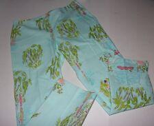 LILLY PULITZER Originals ~ IN THE SLIM Resort Fit Capri Crop PANT Size 2
