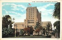 Los Angeles California 1934 Postcard Elks Club 99