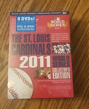 2011 St. Louis Cardinals World Series Collector's Edition DVD Set