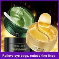 60Pc Collagen Eye Mask Under Eye Patch Gel Pad Anti-Wrinkle Dark Circles Bags