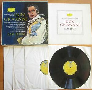 SLPM 104 948-51 Mozart Don Giovanni SIGNED Nilsson Dieskau Arroyo Grist DG TULIP