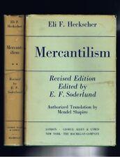 (Economics) Eli Heckscher Mercantilism Revised Edition Macmillan 1962 Vol. 1+2