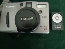 Canon PowerShot G1 3.2MP Digital Camera System with Remote, Manuals, A/V