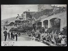 Isle of Wight VENTNOR Childrens Yacht Pond c1905 Old Postcard by Briddos Library