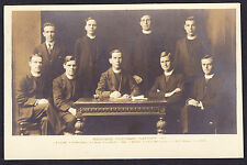 Printed Postcard Richmond Missionary Platform Religion Religious Group 1921 PC