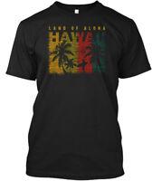 Vintage Hawaiian Islands Hawaii Aloh - Land Of Aloha Hanes Tagless Tee T-Shirt