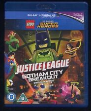 LEGO Super Heroes Justice League GOTHAM CITY BREAKOUT Blu-Ray UK edition BR 007
