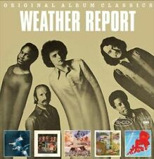 WEATHER REPORT 5CD NEW WR/Tale Spinnin'/Heavy Weather/Mr Gone/Weather Report