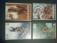 2007 MARVEL COMICS LOT OF 8 INVINCIBLE IRON MAN #1 #2 #4 VARIOUS COVERS NM