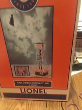 LIONEL 6-14297 HALLOWEEN WITCH PYLON OPERATING TRAIN LAYOUT ACCESSORY O GAUGE