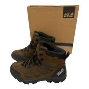 Jack wolfskin Brown Vojo Texapore Leather Hiking Boots UK 6 US 7 EUR 39.5