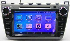 """8"""" Touch Screen Stereo Car Radio DVD Player GPS Navigation For Mazda 6 2008-2012"""