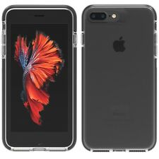 Gear4 Piccadilly Case for iPhone 7 Plus / 8 Plus. D30 Protection - Black / Clear
