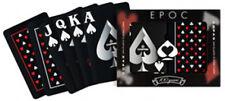 "COPAG PLAYING CARDS - ""EPOC"" PLASTIC BRIDGE SIZE JUMBO INDEX 2 DECKS - FREE S/H*"