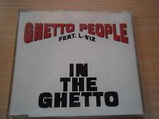 """MAXI-CD VON GHETTO PEOPLE FEAT. L-VIZ """"IN THE GHETTO"""""""