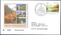 BRD 2006: Mittelrheintal! FDC der Nr. 2536 mit Berliner Stempel! Gelaufen! 1803