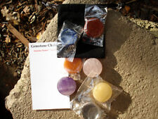 Chakra Set 7 Qualtiy Gemstones-Balance All Chakras* Healing Kit+Carrying Pouch*