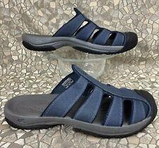 rare KEEN ARUBA II Blue Sport Casual Slide Mule Slip On Sandal 42 men 9.0
