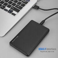 "2.5"" USB3.0 Type-c SSD Hard Drive Disk SATA External Enclosure Cover Case Box"