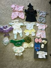 Vintage Cabbage Patch Kids Girl Lot 28 Pieces Bathing Suit Cheerleader Ballerina