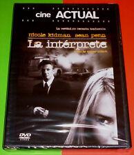 LA INTERPRETE / THE INTERPRETER English Español DVD R2 R5  - Precintada