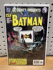DC Comics Presents: Batman #1 (2004) Adam Hughes Cover Batman #183 Homage