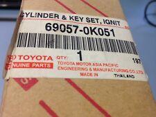Hilux Ignition Barrel Cylinder & Key Set Ignition (Genuine Toyota 69057-0K051)