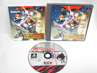 RIOT STARS Ref/ccc PS1 Playstation Japan Video Game p1