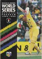 1995-96-WORLD SERIES CRICKET @AUSTRALIA V WEST INDIES-SRI LANKA-CRICKET BROCHURE