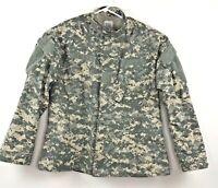US Army Men's Digital Camo Combat Pockets Uniform Jacket - Size Large