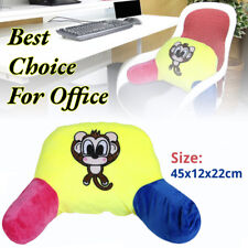 New Bed Rest Pillow Lounger Back Support Arm Reading Home Office Bedrest Cushion