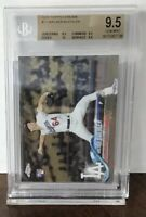2018 WALKER BUEHLER LA DODGERS TOPPS CHROME ROOKIE RC BGS 9.5 GEM MINT