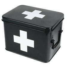Medizin Box Medikamentendose Metalldose Verbandskasten Medikamente Retro 21,5 cm