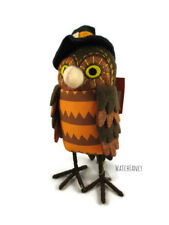 2018 Featherly Friends Barney Owl Witch Fabric Bird Target Halloween Hyde Eek
