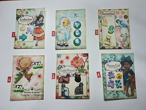 Buttons Retro and Vintage on Cards - New. Cards No. 2,4,5 available.