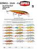 Rapala Scatter Rap® Minnow Fishing Lure 11cm 6g Various Colours