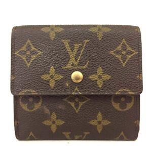 Louis Vuitton Monogram Portefeiulle Elise Trifold Wallet /C1580