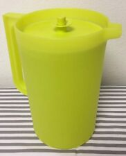 Tupperware Classic One Gallon Pitcher Yellow / Green New