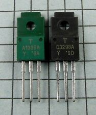 2SA1306A-Y / A1306A Green & 2SC3298A-Y / C3298A : 1 pair per Lot