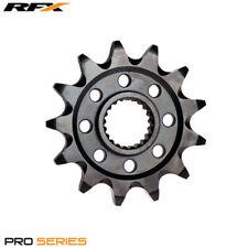 Para KTM SX 150 2 T 2016 RFX Pro Negro Delantero Piñón de zinc (13 T)