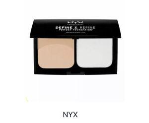NYX Define & Refine Powder Foundation DRPF02 Light Face Makeup Cruelty Free