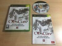 Obscure - PAL - Microsoft Xbox Clasica _