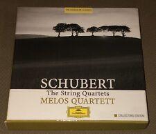 Melos Quartett 'Schubert: The String Quartets' DGG 463 151-2 6-CD Set