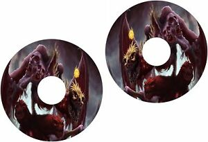 Wheelchair Spoke Guard Skins Fantasy Creatures Ghouls View Mobility Sticker 972