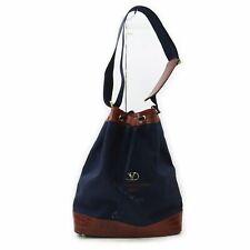 Valentino garavani Shoulder Bag  Navy Blue Nylon 1005614