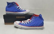 Converse Hi Bleu/Blanc/Rouge UK 7 Men's UK 5