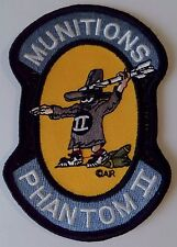 Patch F-4 Phantom II Munitions