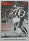 Hamburger SV vs. Juventus Torino 1990 Programme