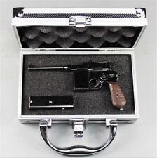 New Aluminum Framed Gun Carry Case Handgun Pistol Hard Box Gun Storage Case Bag